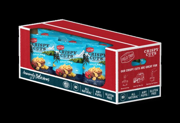 Field Trip - Island BBQ Crispy Cuts 1 oz Case - Front
